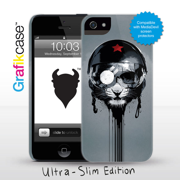 Grafikcase iPhone 5 case: Ape Riot by Hidden Moves