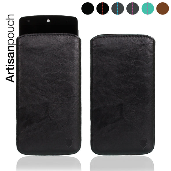 Google Nexus 5 Genuine European Leather Pouch Case | Artisanpouch