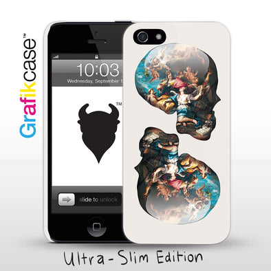 Apple iPhone SE (1st Gen) and iPhone 5/5s Case: Skull Victory over Ignorance by Magnus Gjoen | Grafikcase