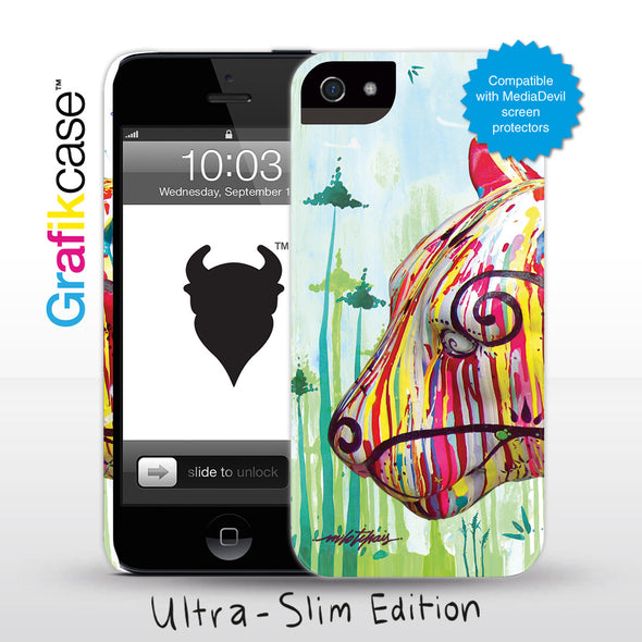 Grafikcase iPhone 5 case: Feline by Milo Tchais