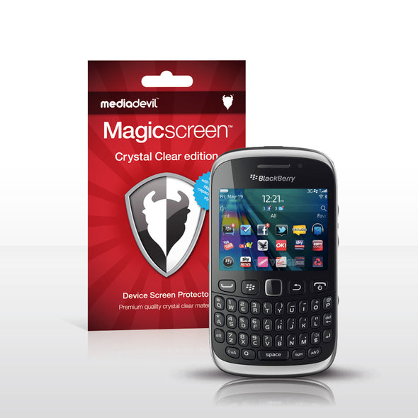 MediaDevil Magicscreen Screen Protector for BlackBerry Curve 9320