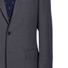 Ring Jacket Suit 288A S172 in Mid-Grey 4-Ply Wool