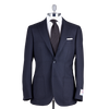 Ring Jacket Sport Jacket 280F in Navy-Black Prince of Wales Check Wool