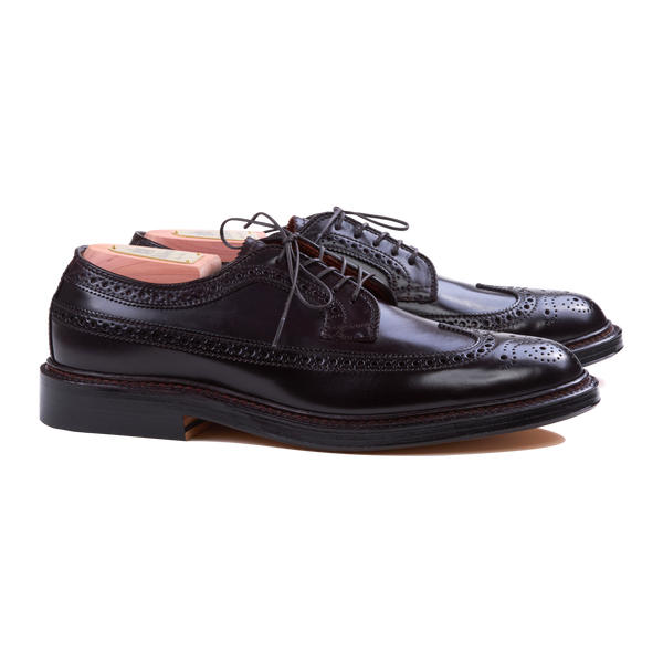 Alden Longwing Blucher in Colour 8 Cordovan