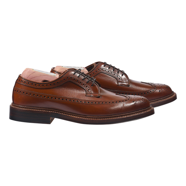 Alden Longwing Blucher in Burnished Tan Calf