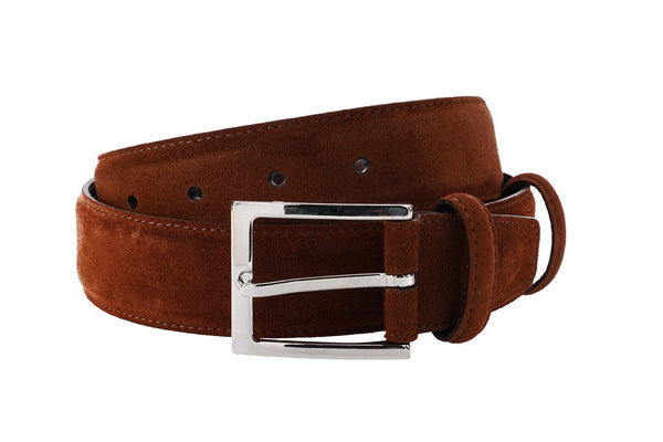 Carmina Belt in Polo Suede