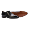 Carmina Wholecut Oxford in Black Calf