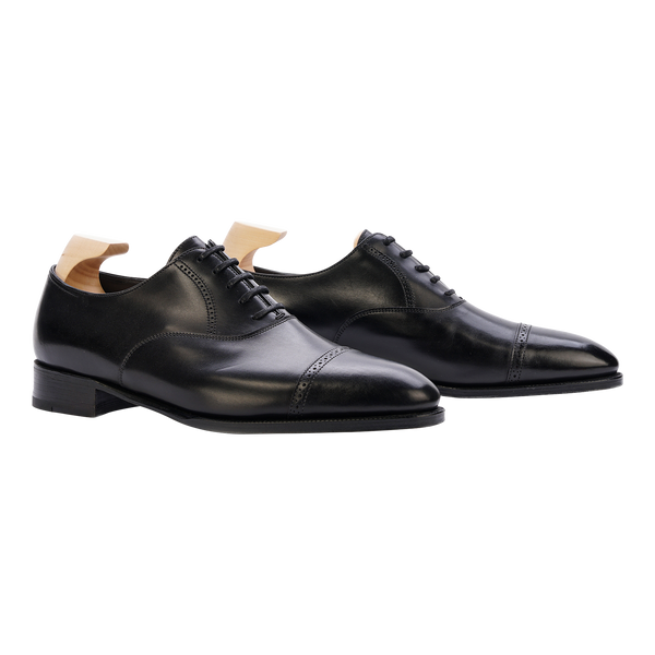 John Lobb Philip II in Black Calf
