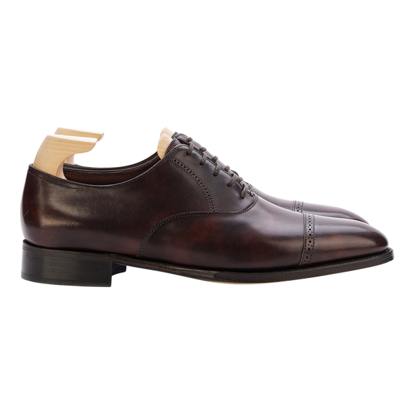 John Lobb Philip II in Dark Brown Museum Calf
