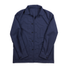 P. Johnson Shirt Jacket in Blue 3-Ply Wool