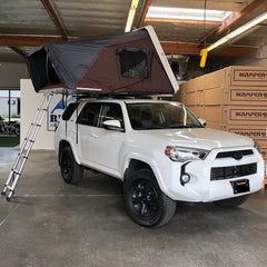 Roof Top Tent & Roof Rack Installs at SF's Premiere Overland