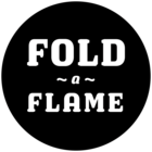 Fold a Flame portable camping fire pit grills logo