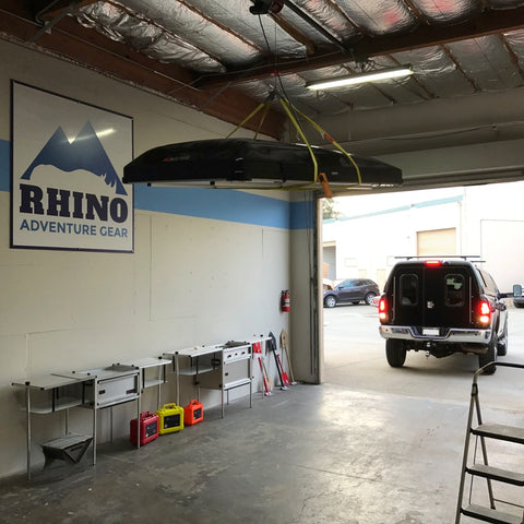 Rhino Rack And Ikamper Skycamp Roof Top Tent Installation