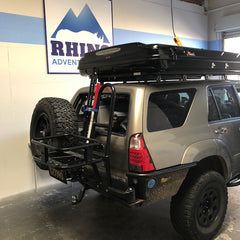 Toyota 4Runner 4th Gen with James Baroud Evasion XXL installed on Eezi Awn K9 Roof Rack at Rhino Adventure Gear in California