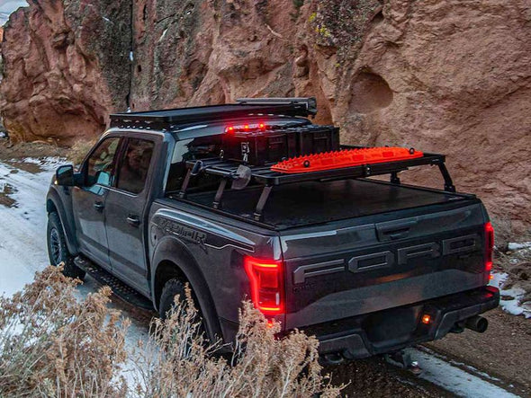 Front Runner SlimLine II Bed Rack Kit on Ford F150 off road