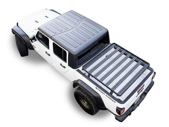 Front Runner SlimLine II Bed Rack for Jeep Gladiator overhead view