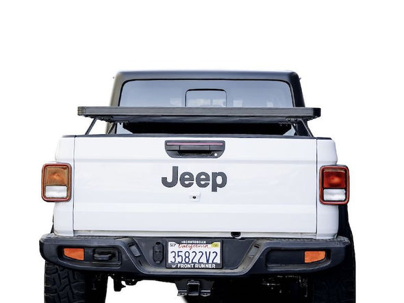 Front Runner SlimLine II Bed Rack for Jeep Gladiator rear view