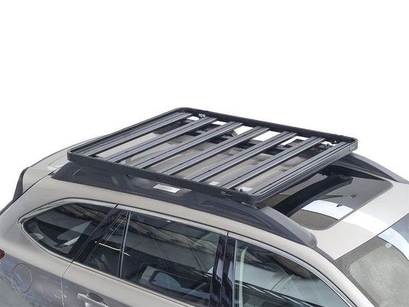 Front Runner SlimLine II Roof Rack Kit on Subaru Outback overhead view