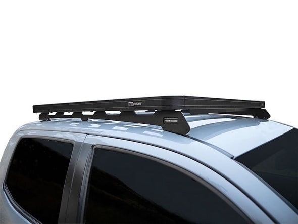 Front Runner SlimLine II Cab Roof Rack Kit on Toyota Tacoma Low Profile side view