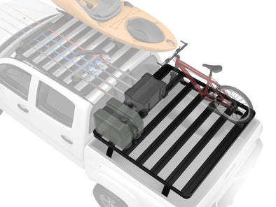 Front Runner SlimLine II Universal Fit Bed Rack Kit with bike and jerry cans
