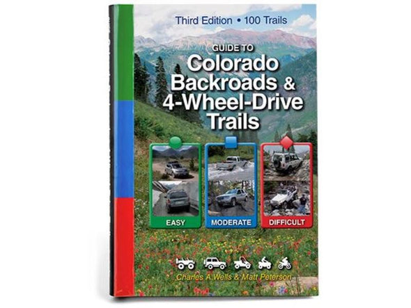 Cover of FunTreks Guidebook to Colorado Backroads and 4-Wheel Drive Trails