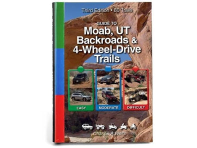 Cover of FunTreks Guidebook to Moab Utah Backroads and 4-Wheel Drive Trails