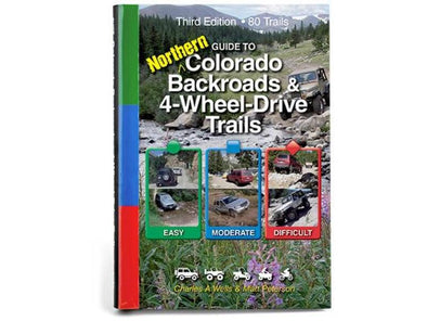 Cover of FunTreks Guidebook to Northern Colorado Backroads and 4-Wheel Drive Trails