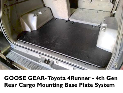 Goose Gear Rear Cargo Mounting Base Plate for Toyota 4Runner 4th Gen
