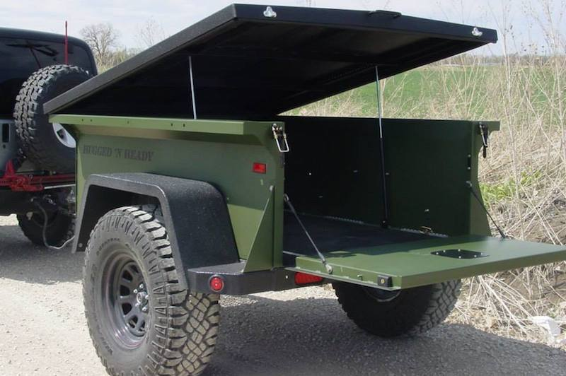 To Extreme Rugged N Ready Off Road Trailer Backwoods 72