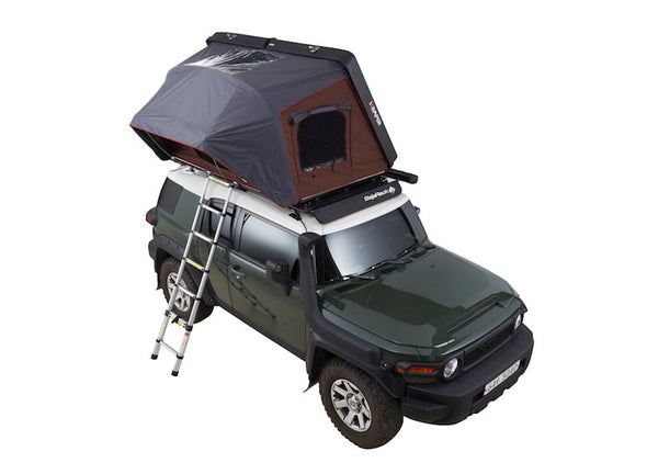 iKamper Skycamp 2X 2-person Roof Top Tent shown opened from above