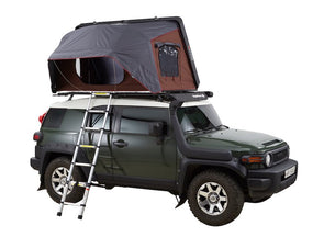 iKamper Skycamp 2X 2-person Roof Top Tent shown opened