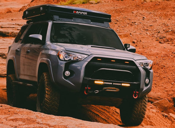 ikamper skycamp 2.0 roof top tent on toyota 4runner