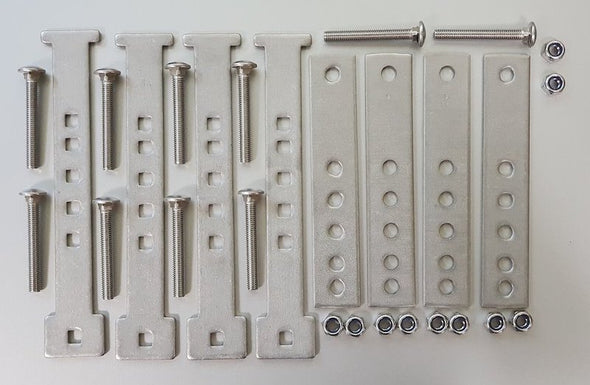 Components included in iKamper Spare Mounting Bracket v. 1.0