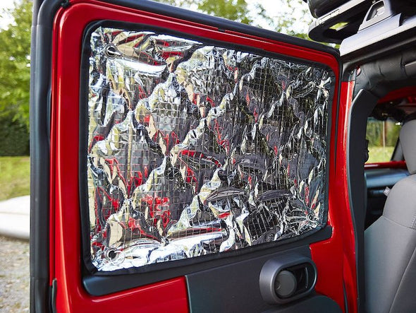 James Baroud Vehicle Insulation Kit panels for window of Jeep JK