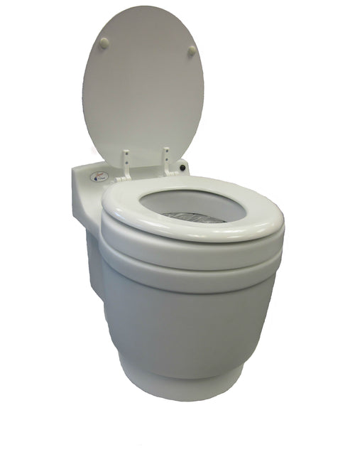 Camping toilet that is portable, waterless, odorless and chemical free