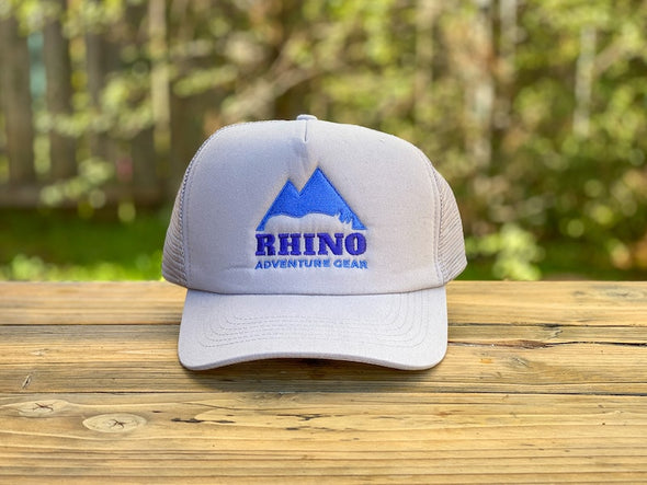 Rhino Adventure Gear RAG SWAG snapbill hat- gray logo embroidered hat