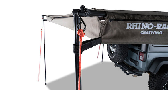 Rhino Rack Batwing Awning eyelet for securing guy rope to awning