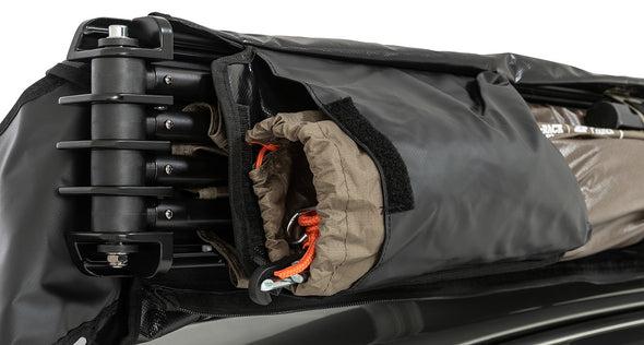 Right Side Mounted Rhino-Rack Batwing Compact Awning- inner storage pouch for ropes and stakes