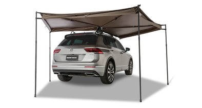 Right Side Mounted Rhino-Rack Batwing Compact Awning- rear view