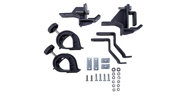 components of jack and shovel combination roof rack mounting bracket kit