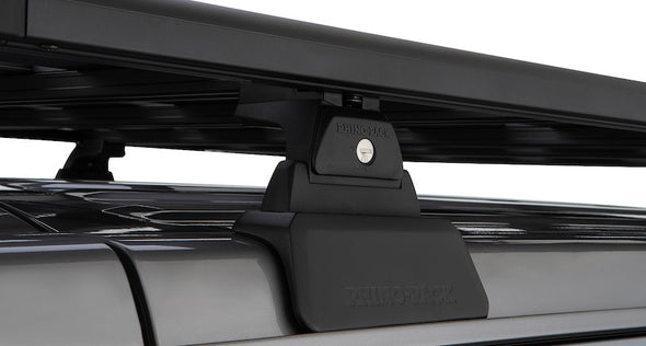 Rhino-Rack Jeep JL Backbone roof rack mounting system with locking Pioneer Platform