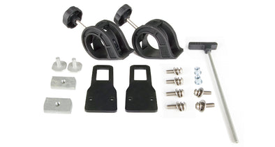 Shovel holder bracket kit components