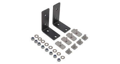 Components of Rhino Rack Universal Awning Bracket Kit