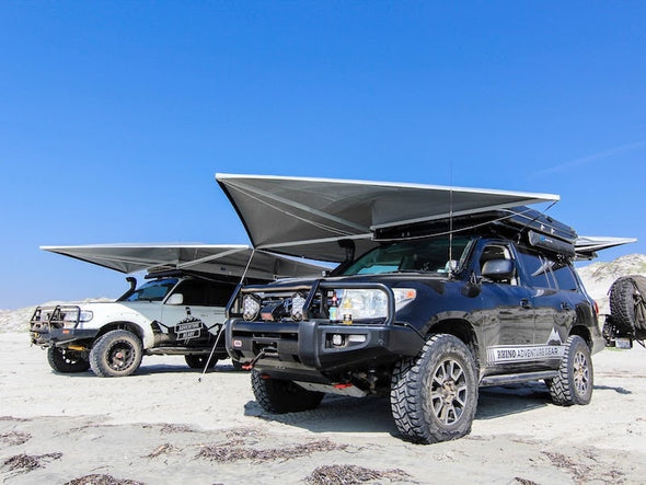 RLD GhostAwn 360 awning on Land Cruiser 200 Series