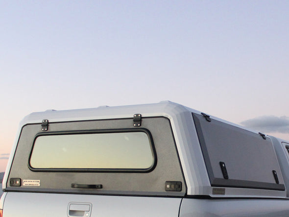 RLD Design stainless Steel Truck Cap rear window