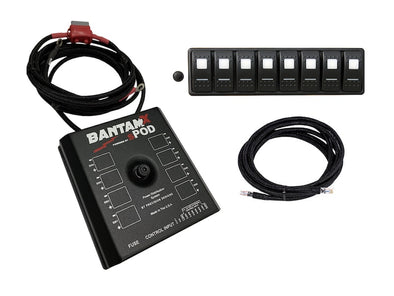 sPOD BantamX - 8 Circuit System (with LED Switch Panel)