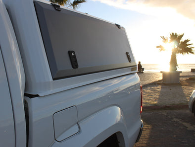 RLD Design stainless Steel Canopy for Toyota Tundra side doors