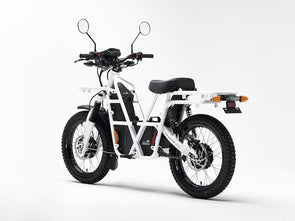 Ubco 2x2 2018 street-legal off-road electric adventure bike available at Rhino Adventure Gear