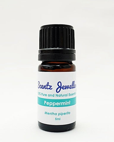 Scentz Jewellery Aromatherapy Diffuser Locket Peppermint  Essential oil