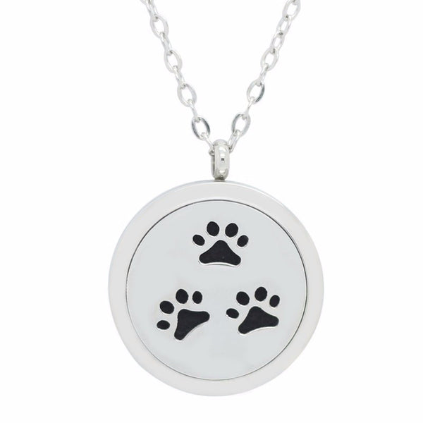 Animals, Dogs, Cats, Aromatherapy Diffuser, Lockets, Pendants, Stainless Steel